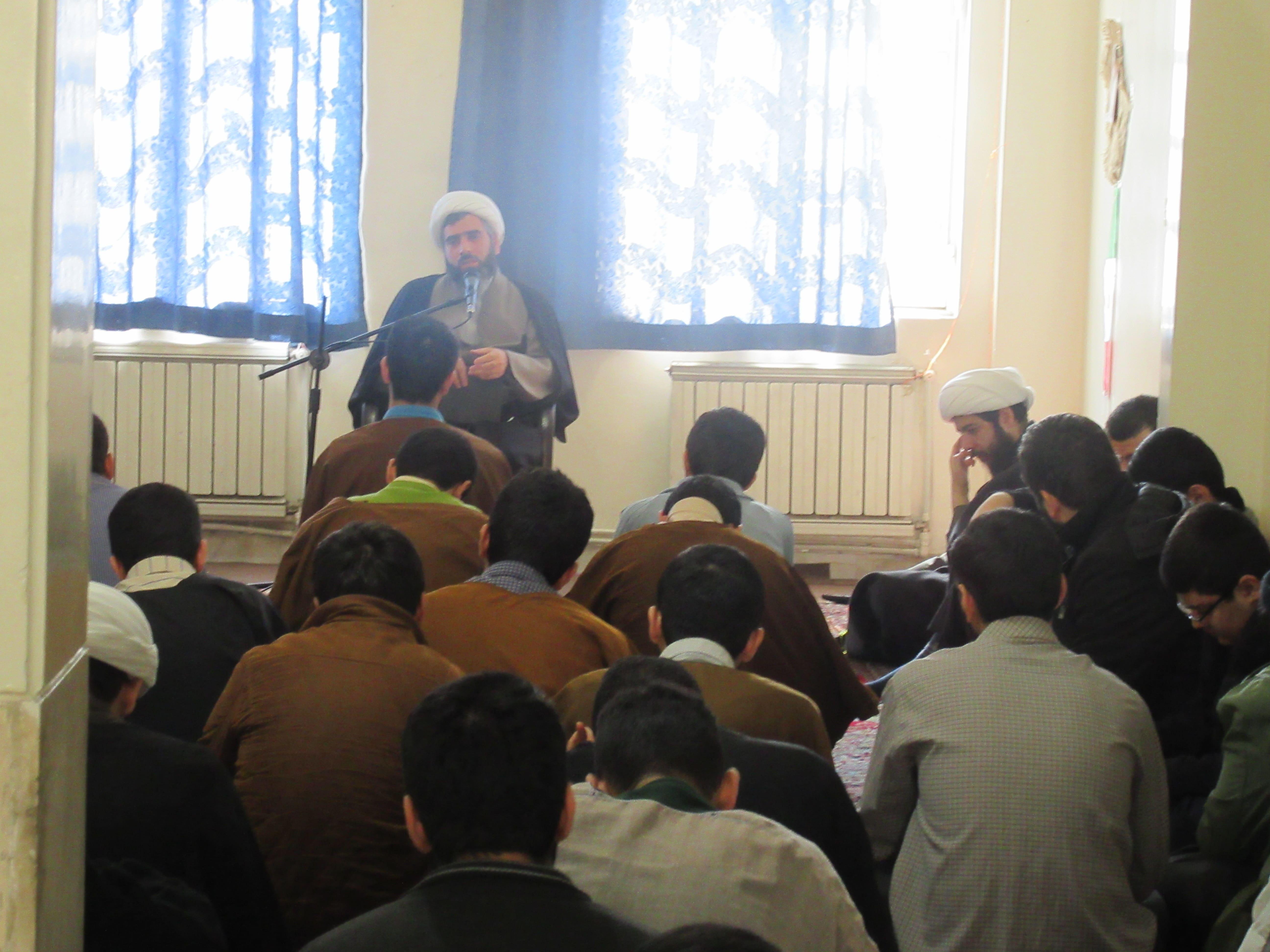 بازدید از مدرسه علمیه نبی اکرم (ص)